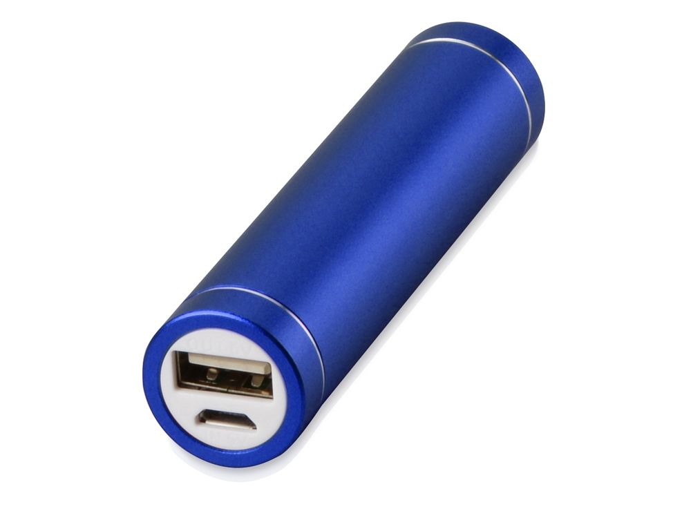Портативное зарядное устройство Олдбери, 2200 mAh, синий