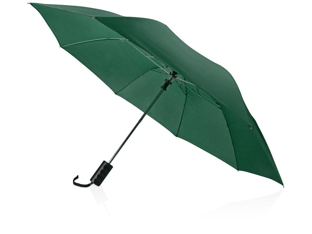 Зонт складной Андрия, зеленый