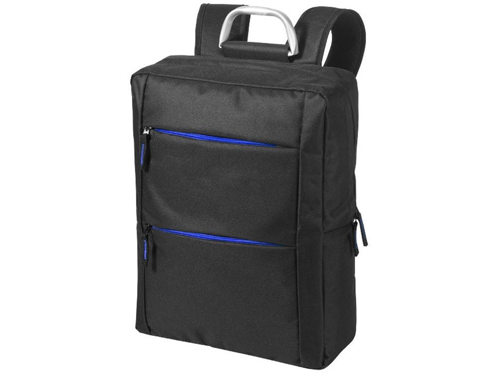 Рюкзак Boston для ноутбука 15,6, черный/ярко-синий
