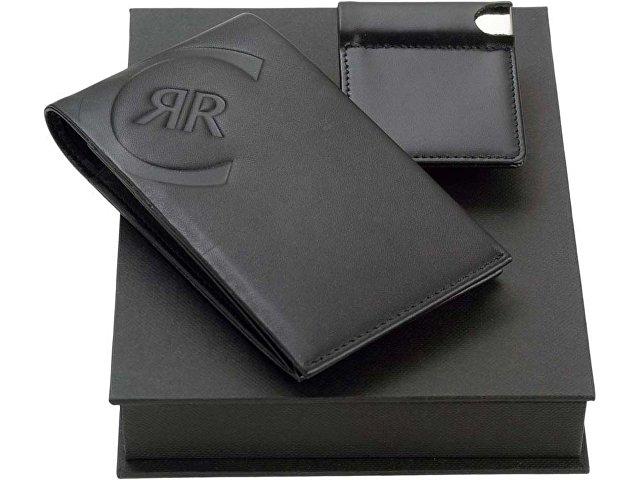Подарочный набор: портмоне, визитница с флеш-картой на 4 Гб (арт. 56406)