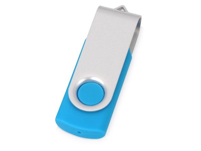 Флеш-карта USB 2.0 512 Mb «Квебек», голубой