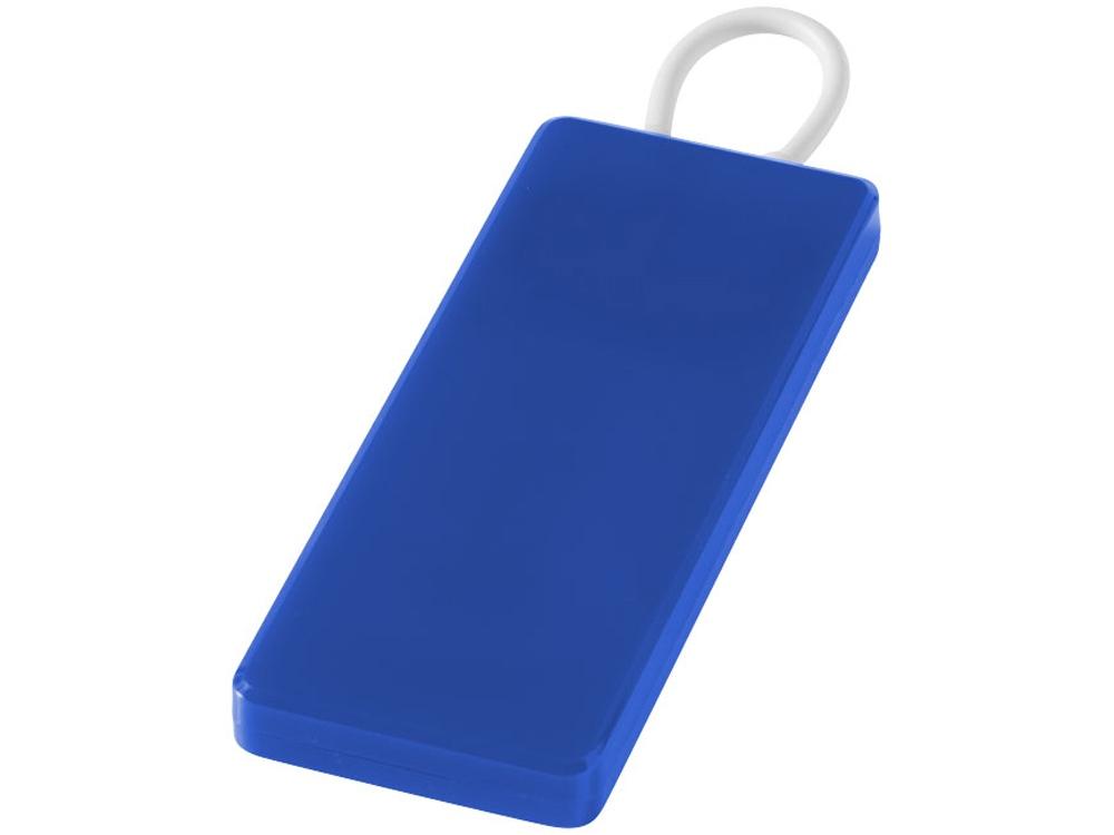 Портативное зарядное устройство Current, 1200 mAh, ярко-синий