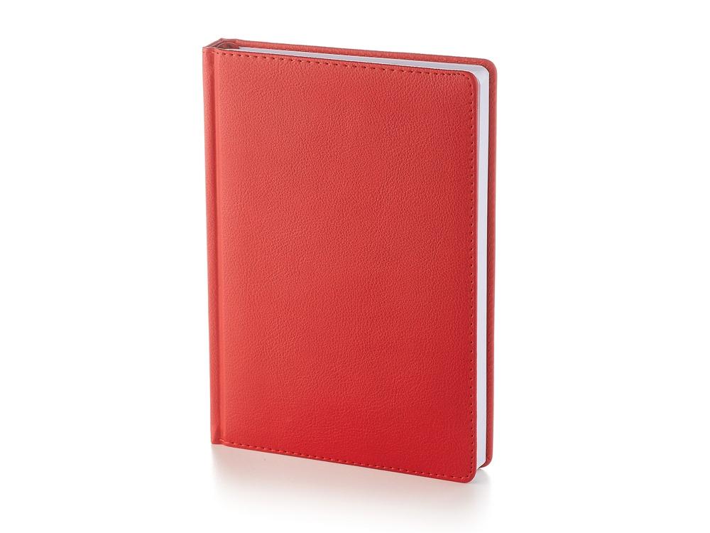 Ежедневник А5 датированный Leader 2020, красный
