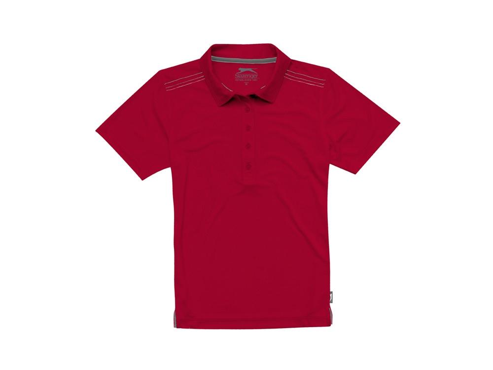 Рубашка поло Receiver CF женская, темно-красный