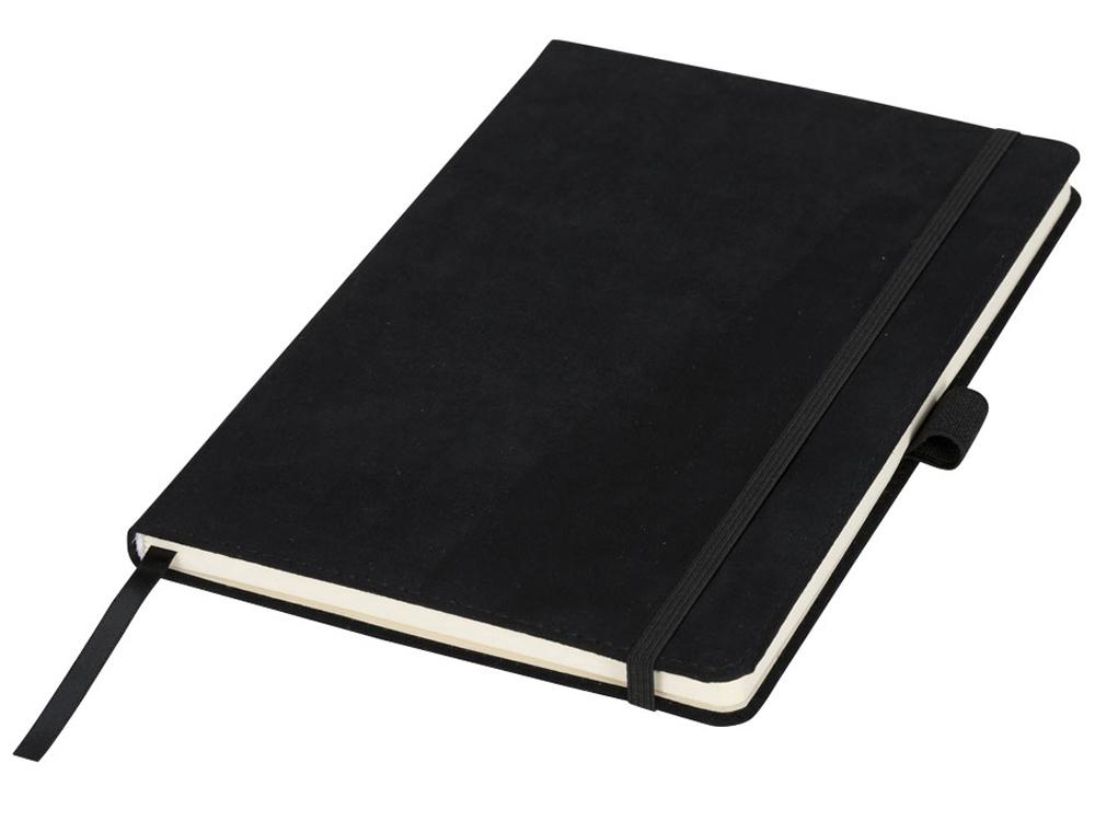 Блокнот А5 Suede, черный