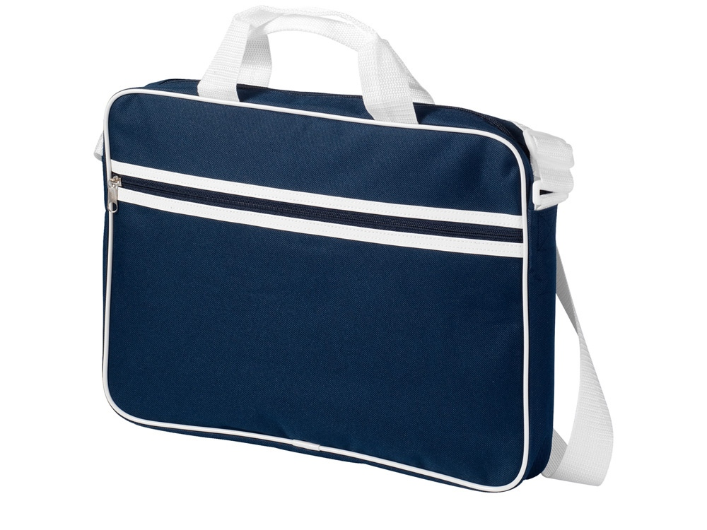 Сумка для ноутбука Knoxville, темно-синий/белый
