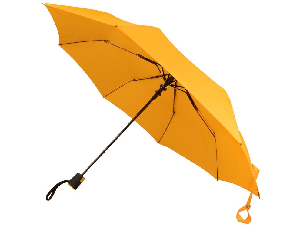 Зонт Wali полуавтомат 21, желтый