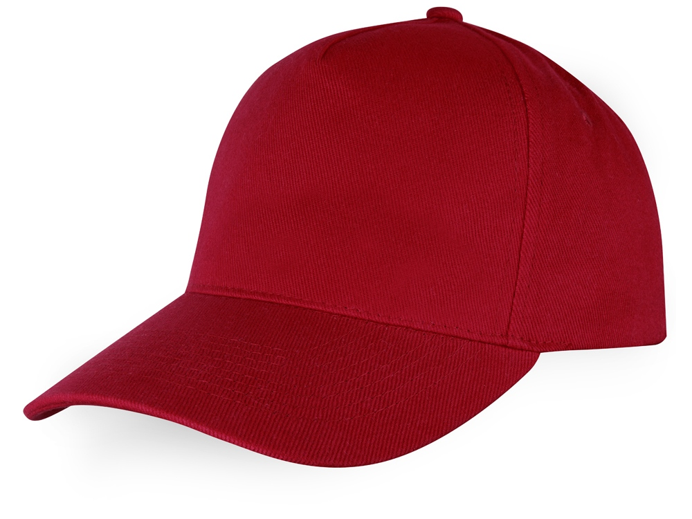 Бейсболка Florida F 5-ти панельная, красный