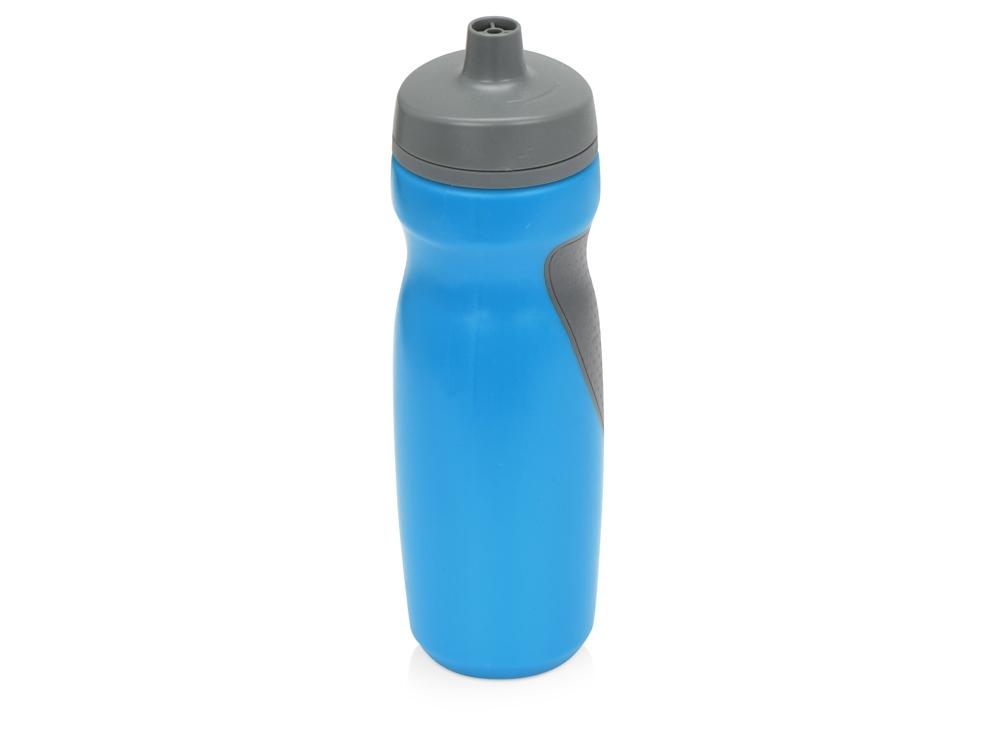 Спортивная бутылка Flex 709 мл, голубой/серый