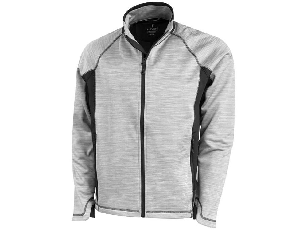 Куртка Richmond мужская на молнии, серый меланж