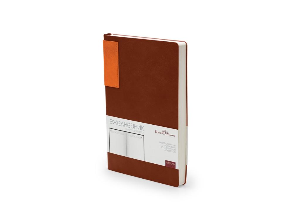 Ежедневник недатированный  А5 LONDON коричневый