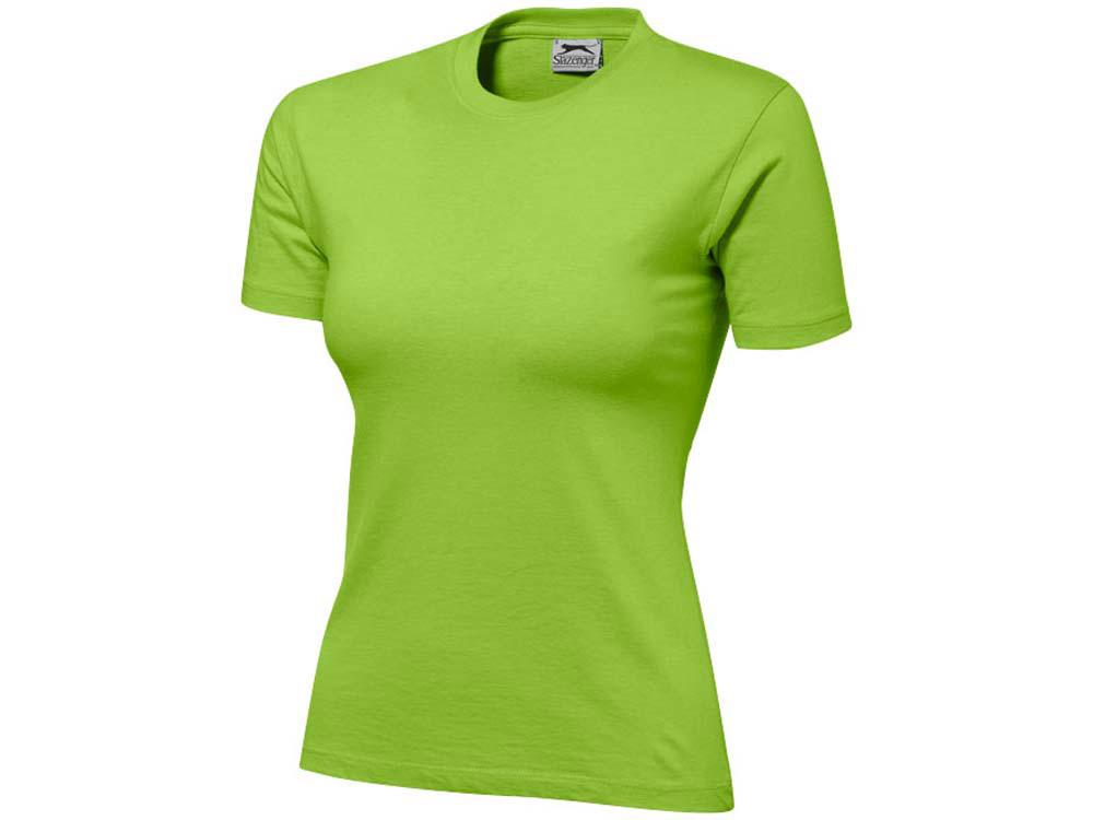 Футболка Ace женская, зеленое яблоко