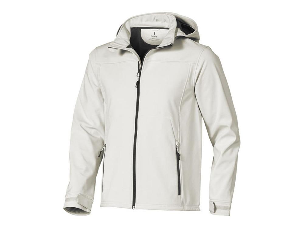 Куртка софтшел Langley мужская, светло-серый
