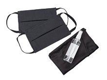 Набор средств индивидуальной защитыв сатиновом мешочке «Protect Plus» (арт. 112016.07)
