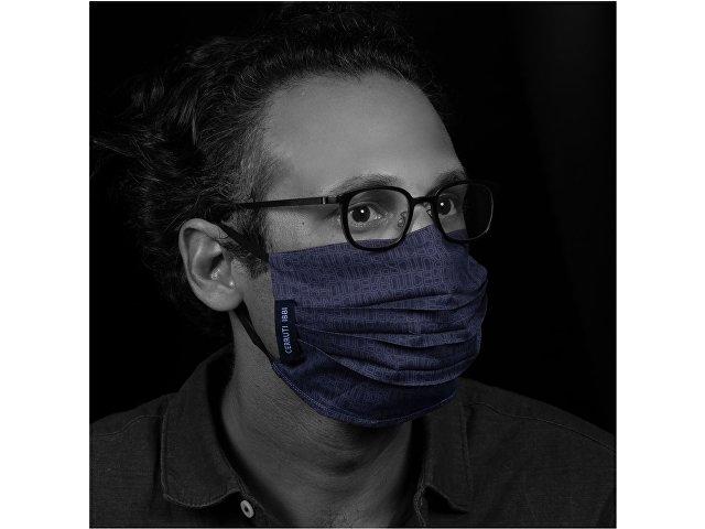 Набор: маска защитная, ручка шариковая
