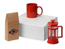 Подарочный набор с чаем, кружкой и френч-прессом «Чаепитие» (арт. 700411.01)