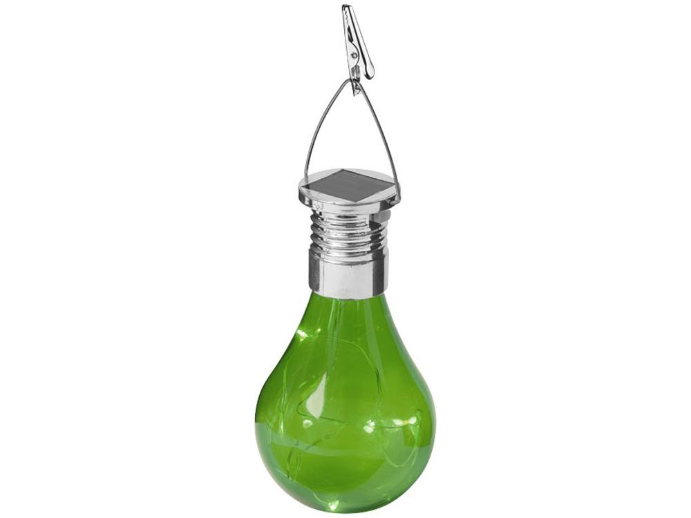Солнечный диодный фонарь Surya, зеленый