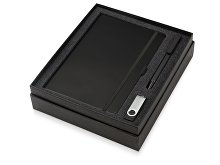 Подарочный набор «Q-edge» с флешкой, ручкой-подставкой и блокнотом А5 (арт. 700322.07), фото 2