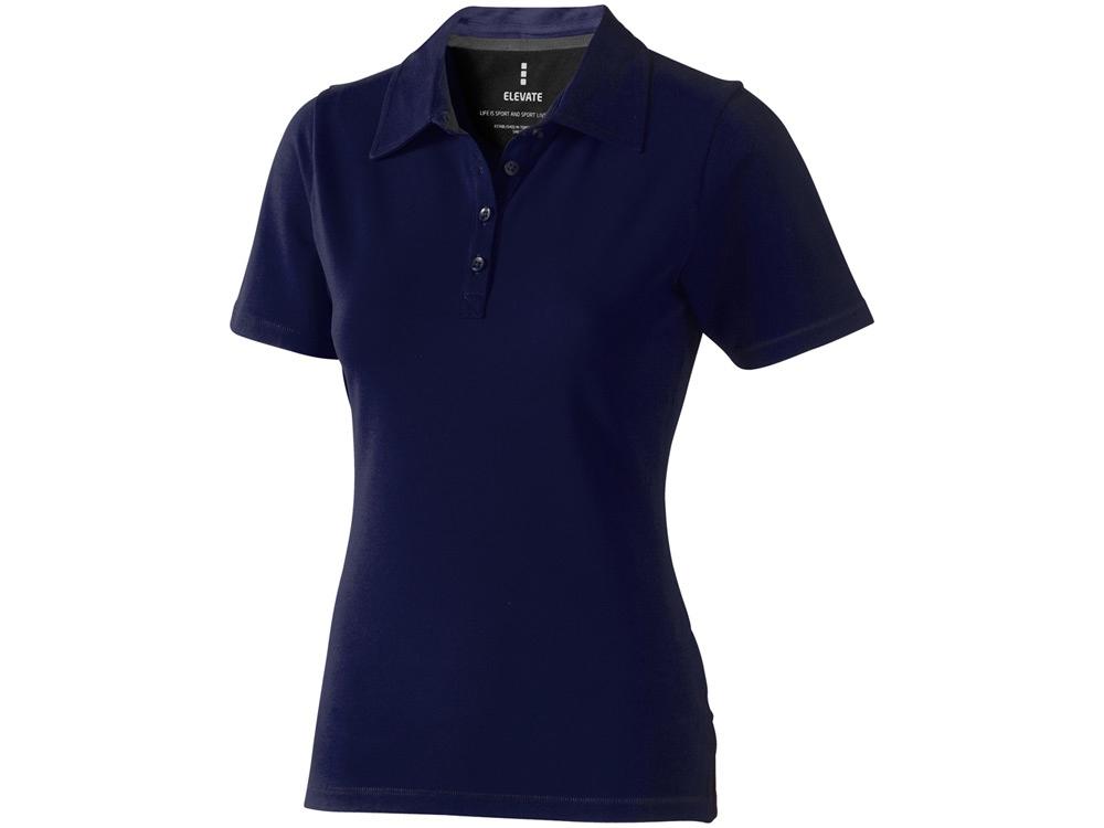 Рубашка поло Markham женская, темно-синий/антрацит