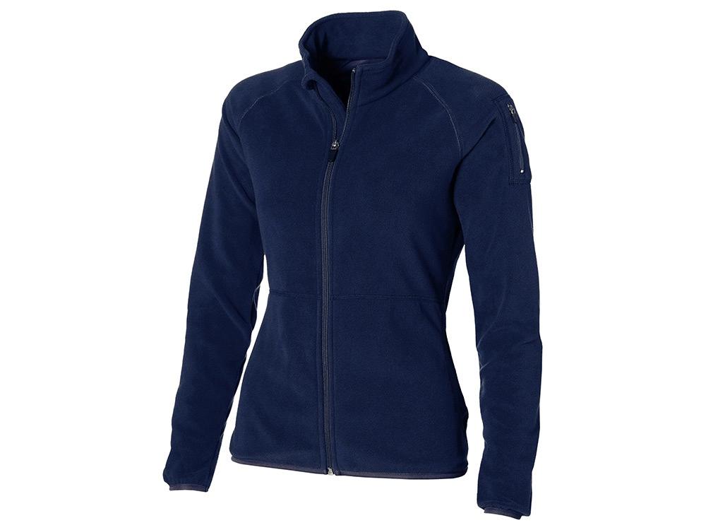 Куртка Drop Shot из микрофлиса женская, темно-синий
