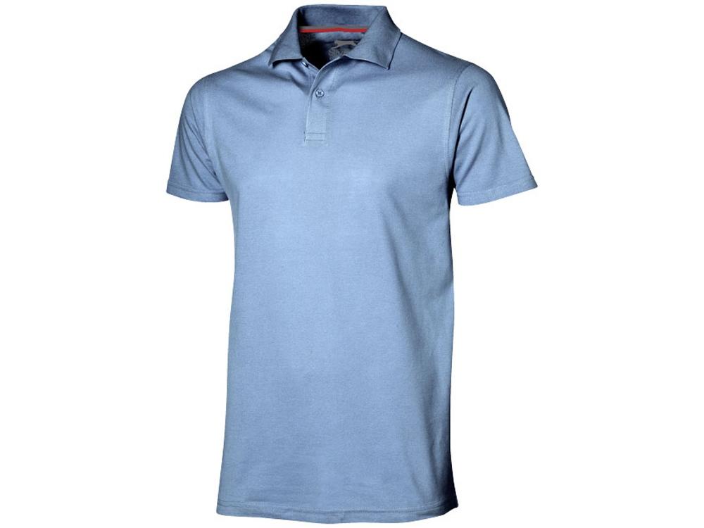 Рубашка поло Advantage мужская, светло-синий