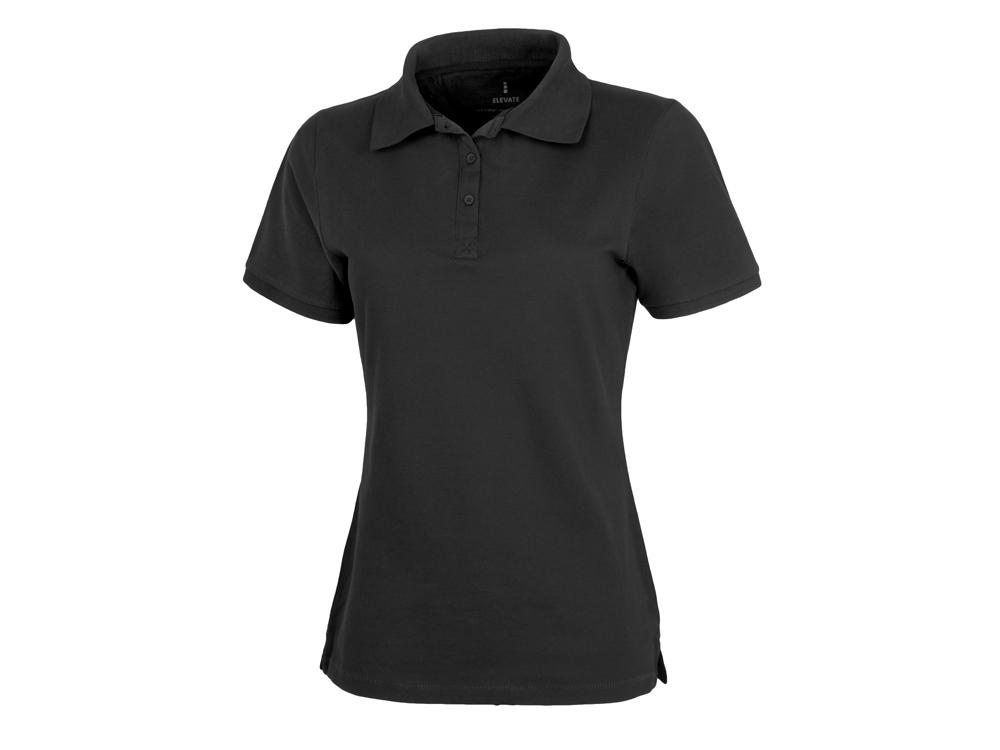 Рубашка поло Calgary женская, черный