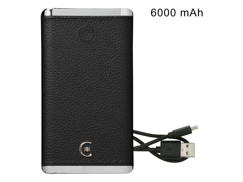 Портативное зарядное устройство Hamilton Black, 6000 mAh