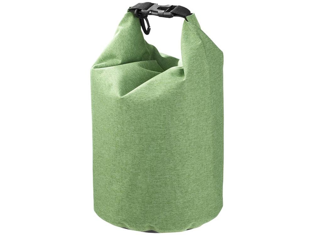 Туристический 5-литровый водонепроницаемый мешок, зеленый яркий