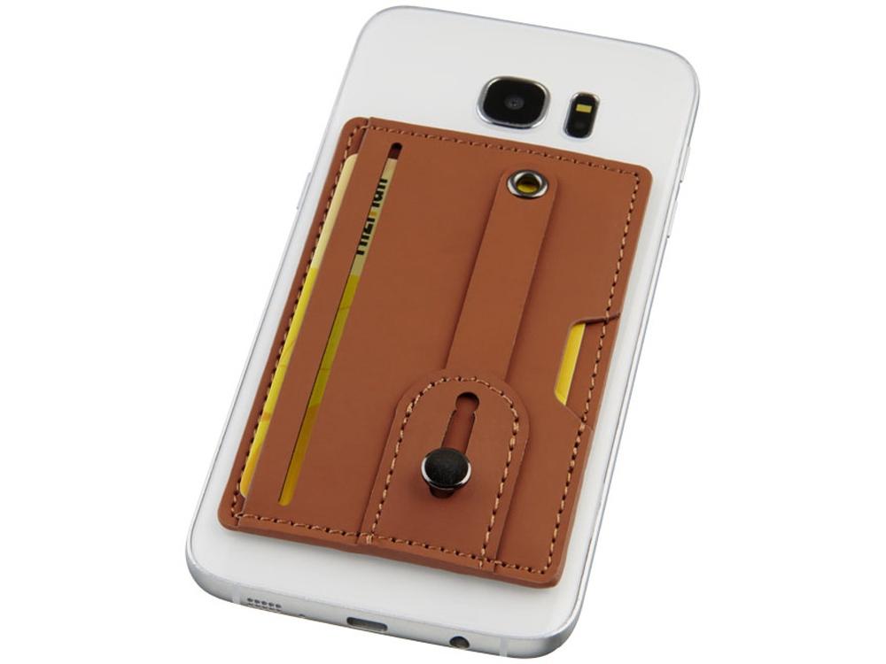 Удобный бумажник для телефона с защитой RFID с ремешком