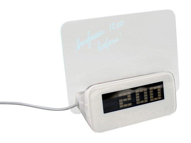 USB Hub 4 порта с часами