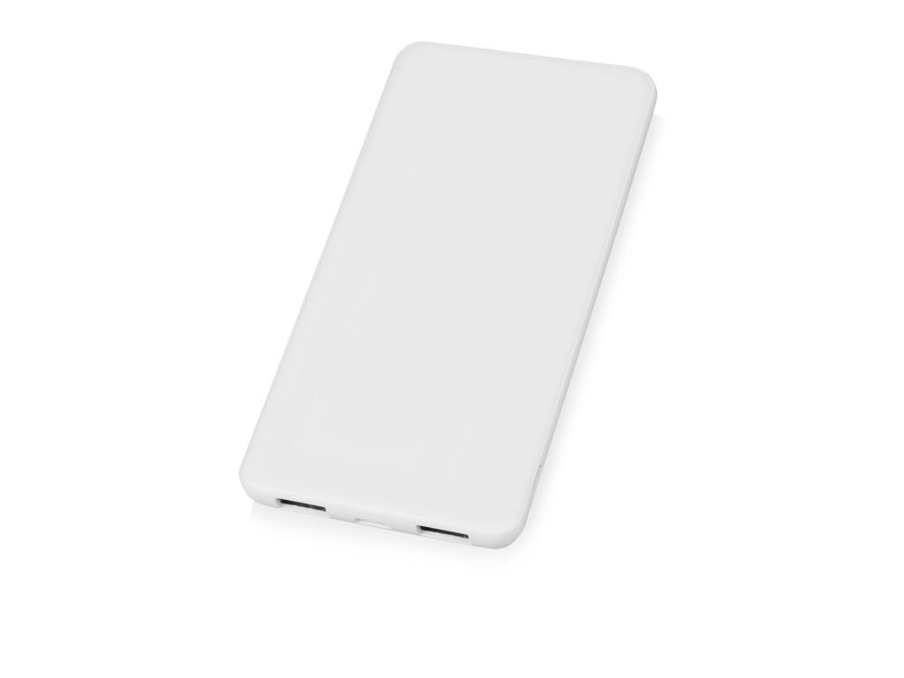 Портативное зарядное устройство Blank с USB Type-C, 5000 mAh, белый