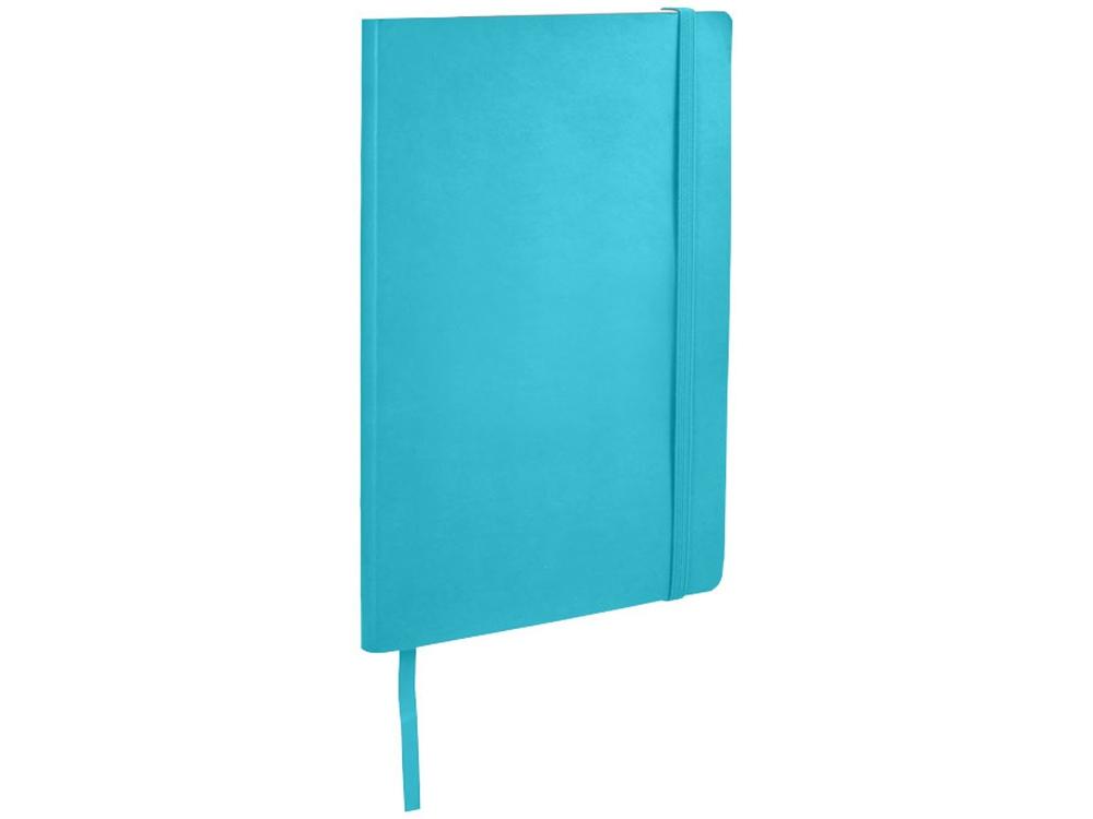 Классический блокнот А5 с мягкой обложкой, светло-синий