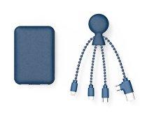 Портативное зарядное устройство «BioPack» c кабелем «Mr. Bio», 5000 mAh (арт. 965114)