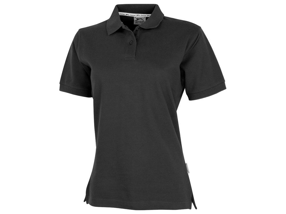 Рубашка поло Forehand женская, черный