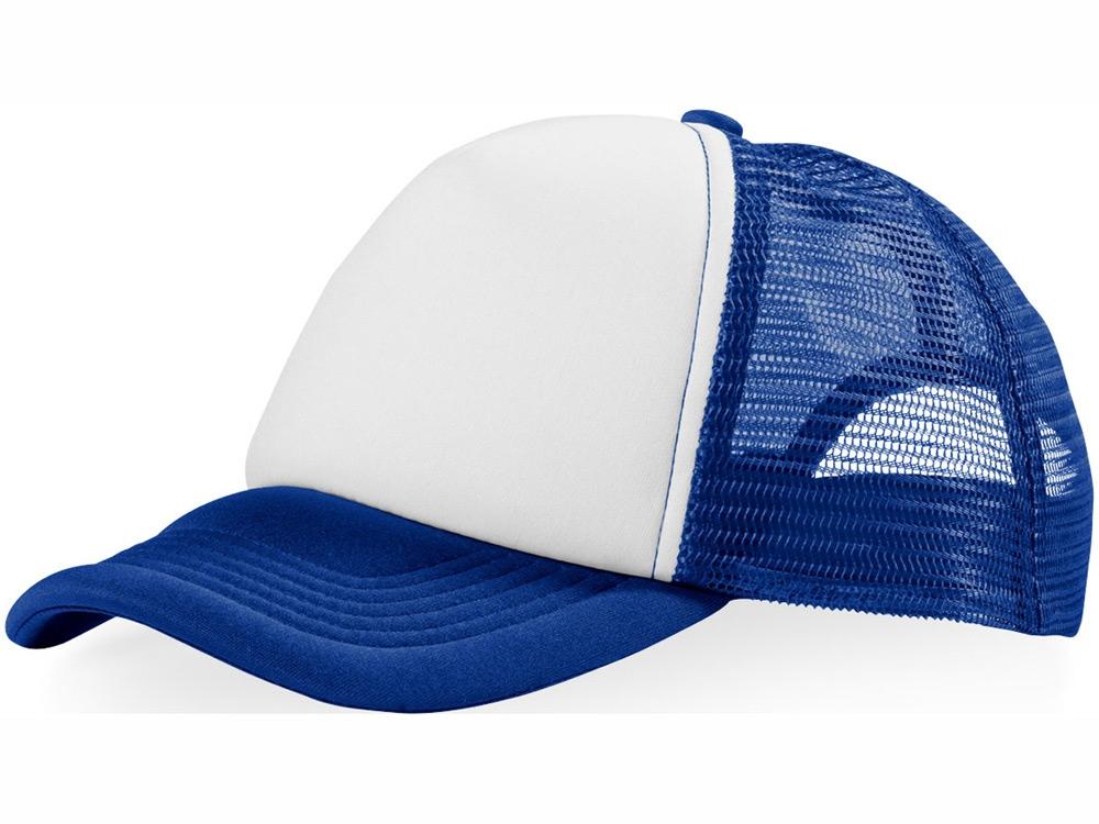 Бейсболка Trucker, ярко-синий/белый