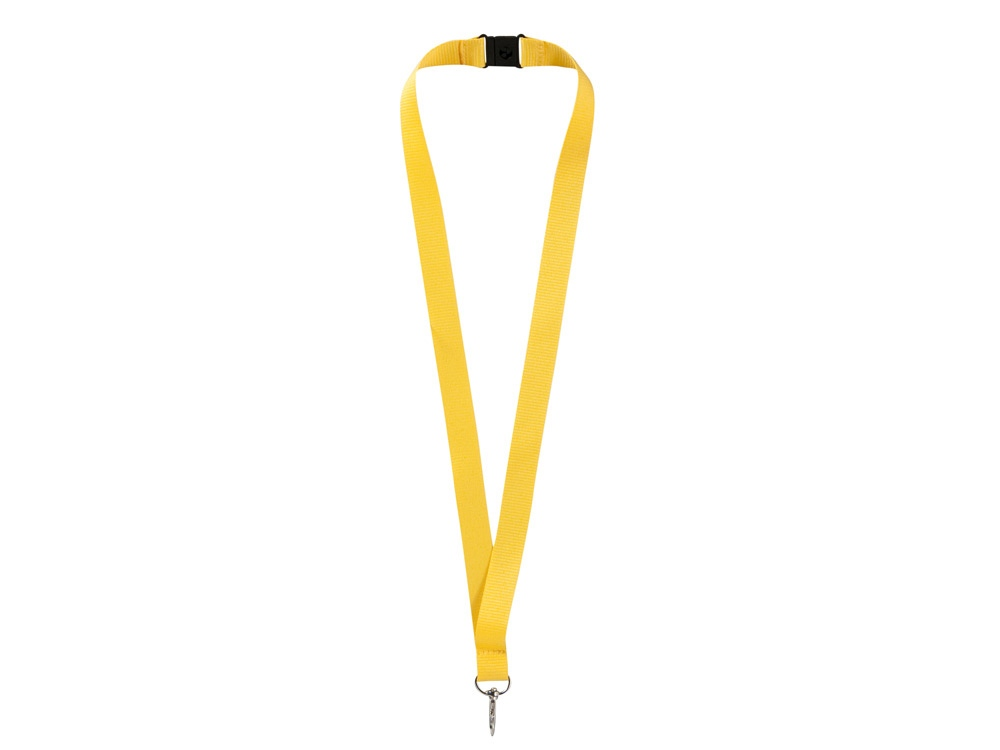 Ремешок на шею с карабином Бибионе, желтый