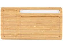 Беспроводное зарядное устройство-органайзер из бамбука «Timber» (арт. 590908), фото 3