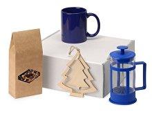 Подарочный набор с чаем, кружкой и френч-прессом «Чаепитие» (арт. 700411NY.02)