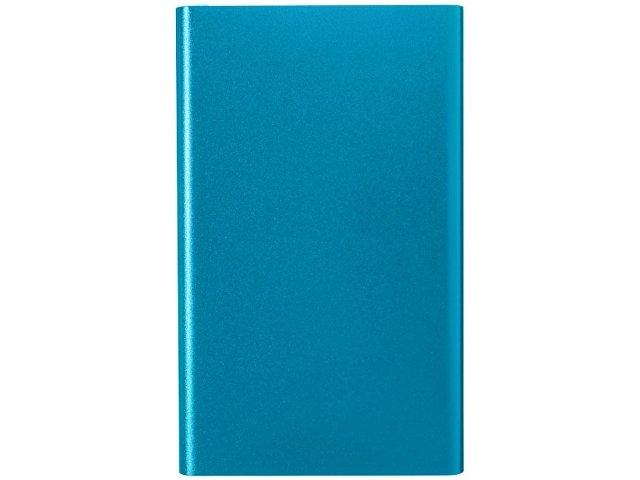 Алюминиевый повербанк Pep емкостью 4000 мА/ч, синий