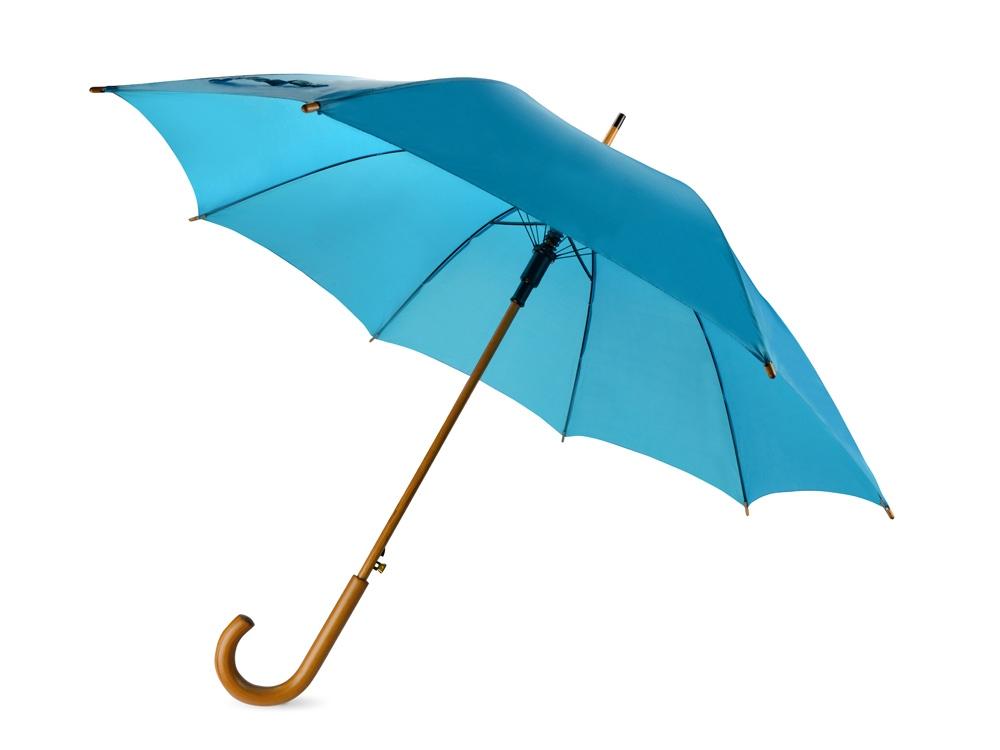 Зонт-трость Радуга, ярко-синий