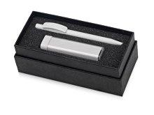 Подарочный набор White top с ручкой и зарядным устройством (арт. 700302.06)