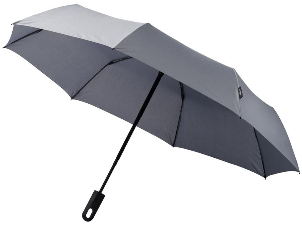 Зонт Traveler автоматический 21,5, серый