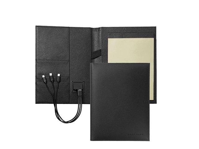 Папка А5 + портативное зарядное устройство Storyline Black