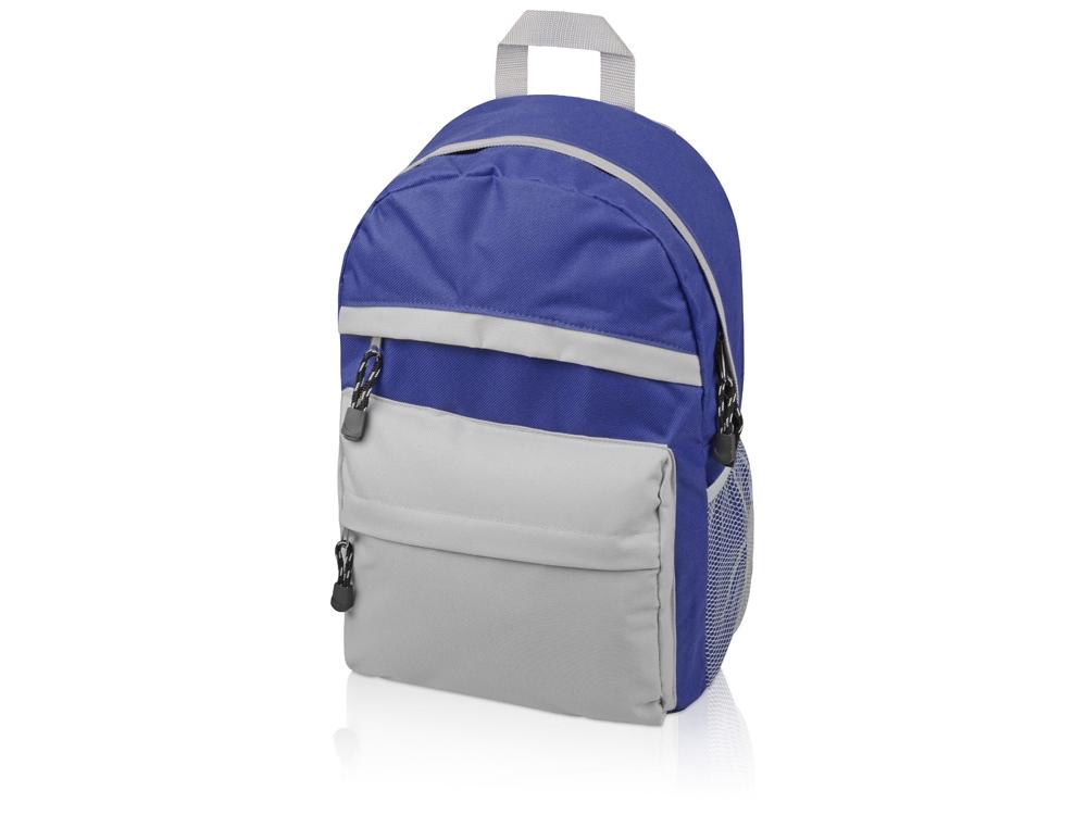 Рюкзак Универсальный (синяя спинка), синий/серый