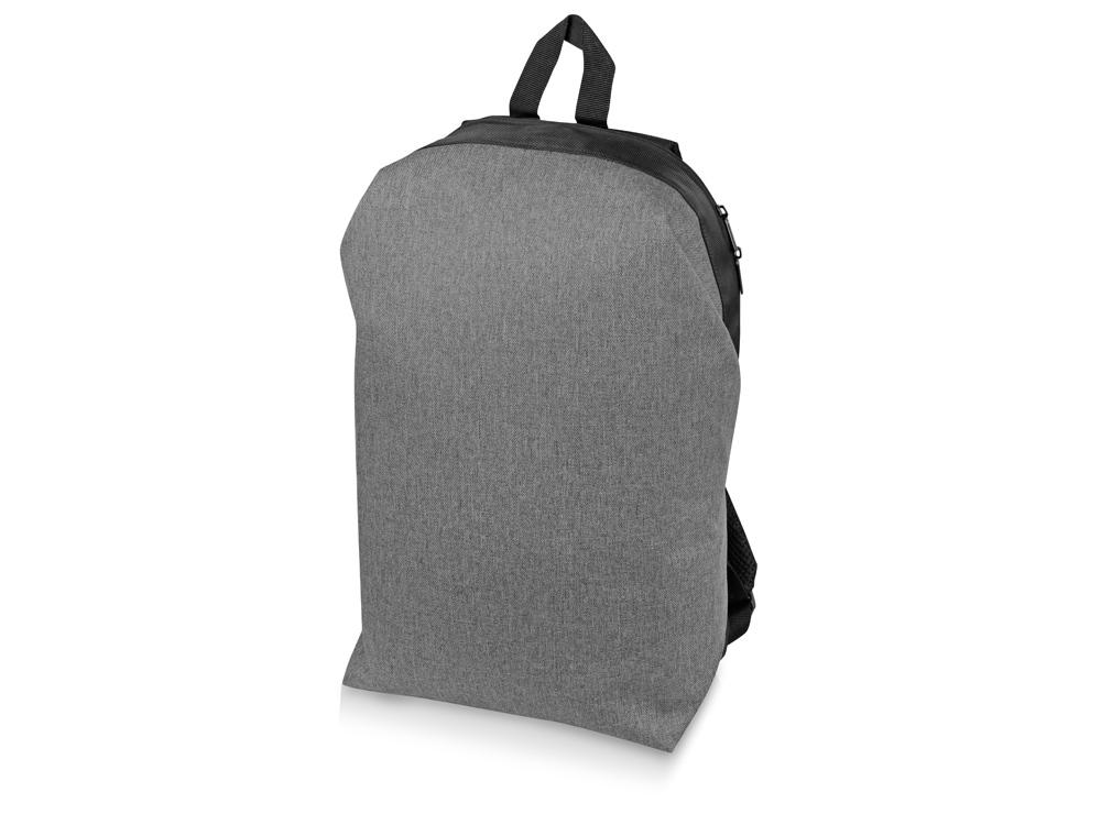 Рюкзак Planar с отделением для ноутбука 15.6, серый/черный