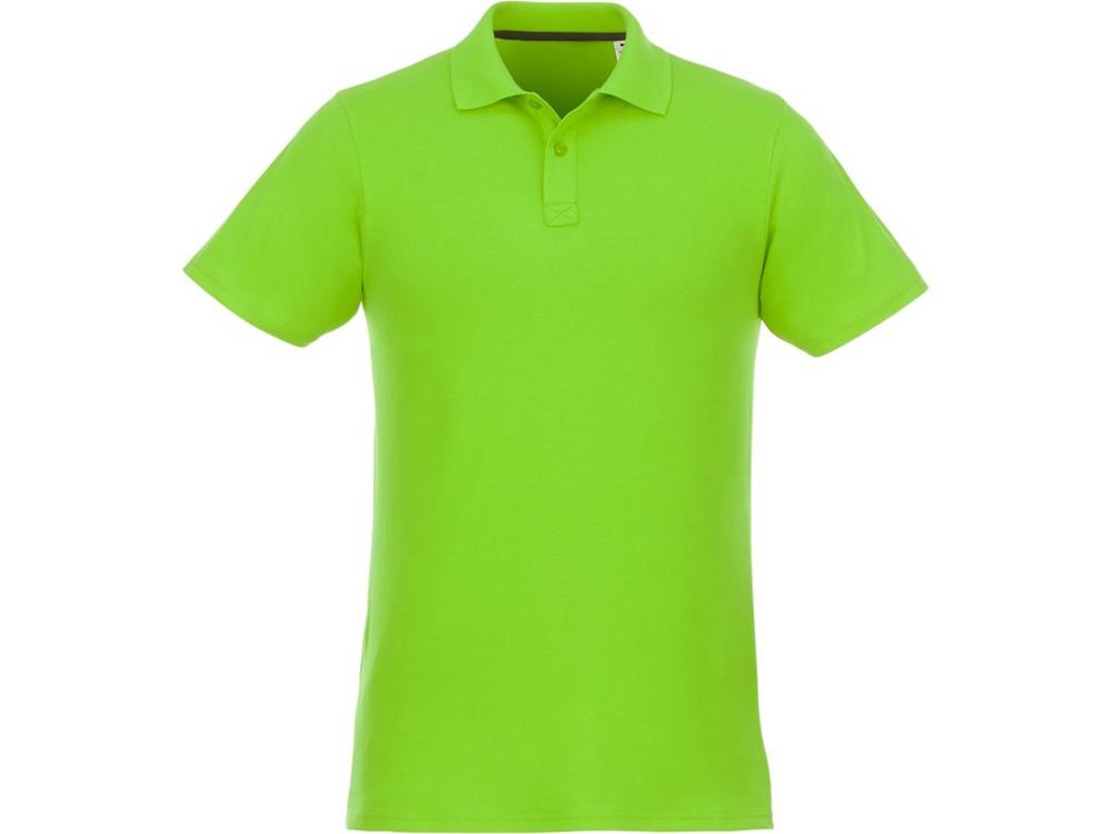 Мужское поло Helios с коротким рукавом, зеленое яблоко
