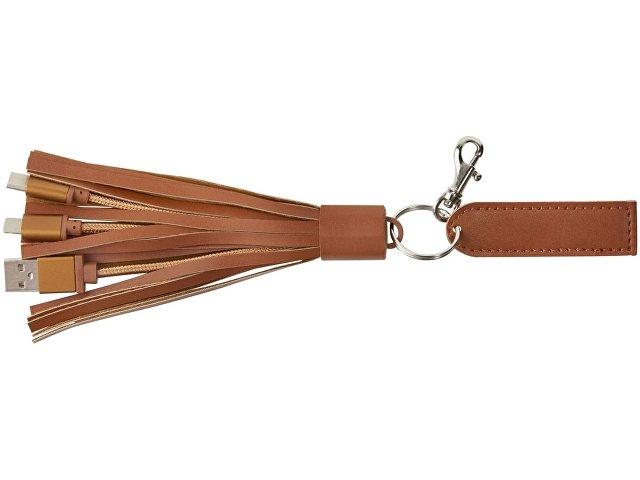 Тканевый кабель для зарядки «Tassel» 3-в-2