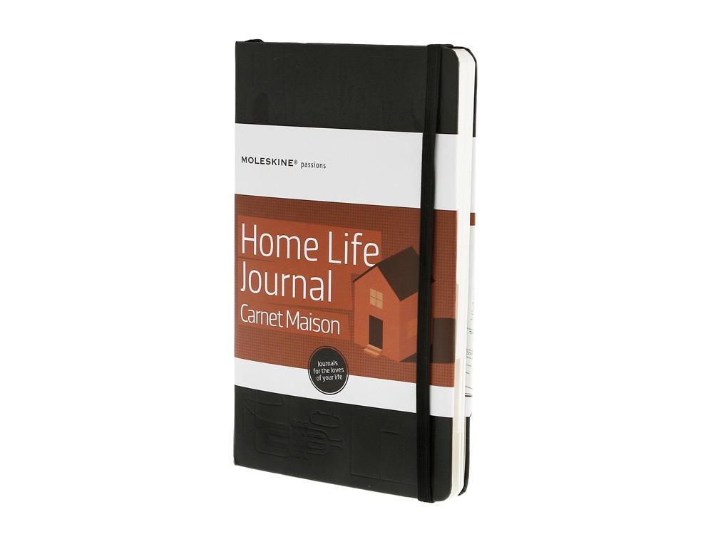 Записная книжка Moleskine Passion Home Life (Семейная жизнь), Large (13x21см), черный