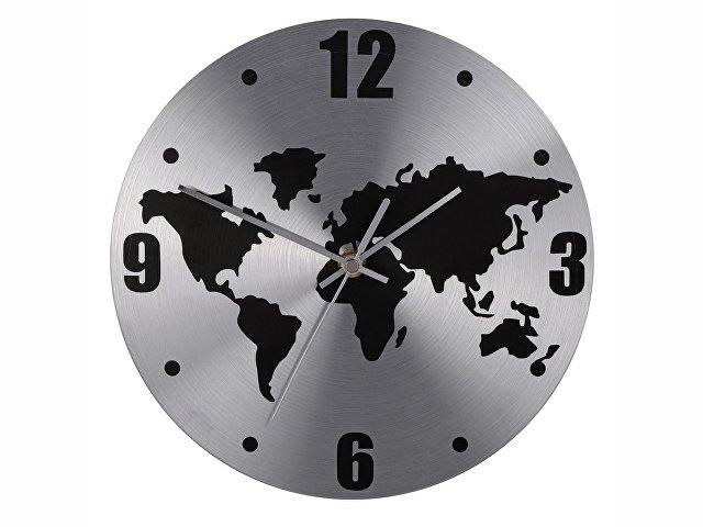 Часы настенные «Торрокс», серебристый/черный