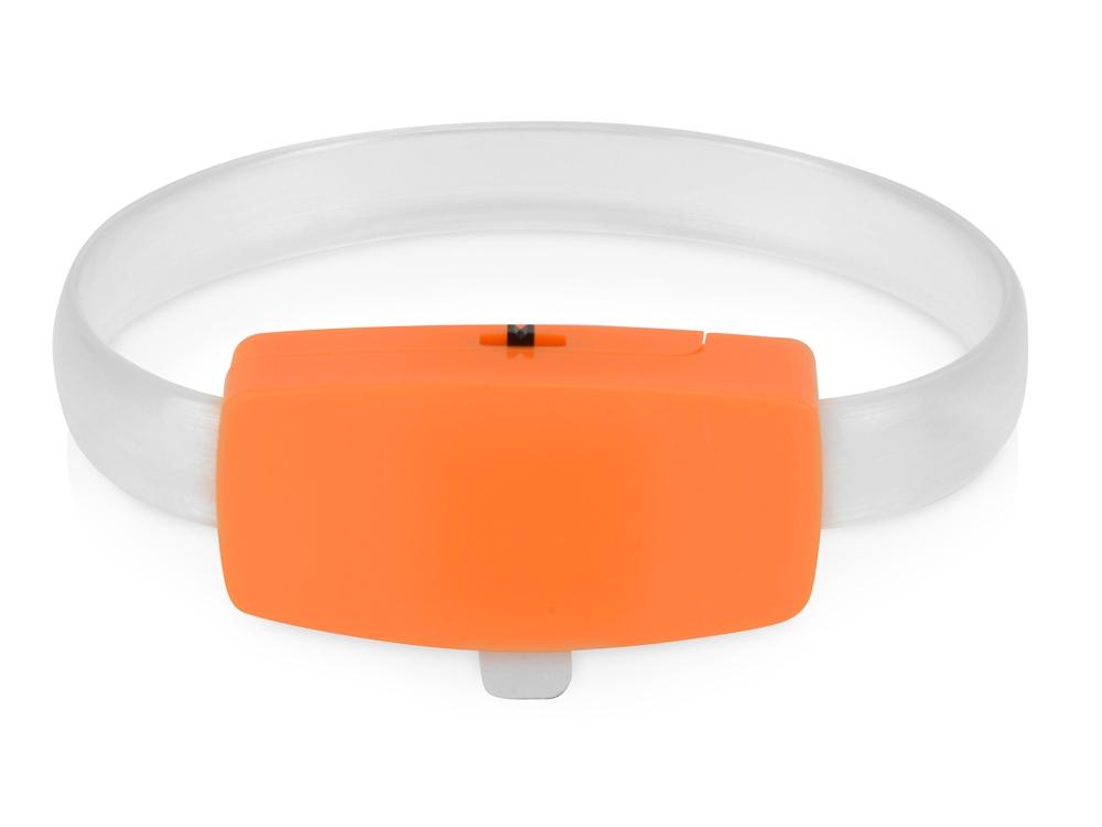 Браслет Raver, оранжевый/белый